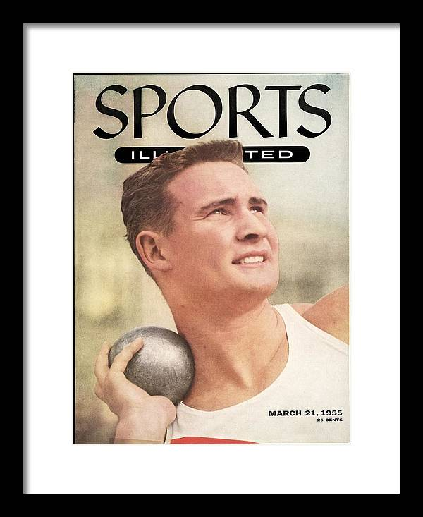 Event Framed Print featuring the photograph W. Parry Obrien, Track & Field Sports Illustrated Cover by Sports Illustrated