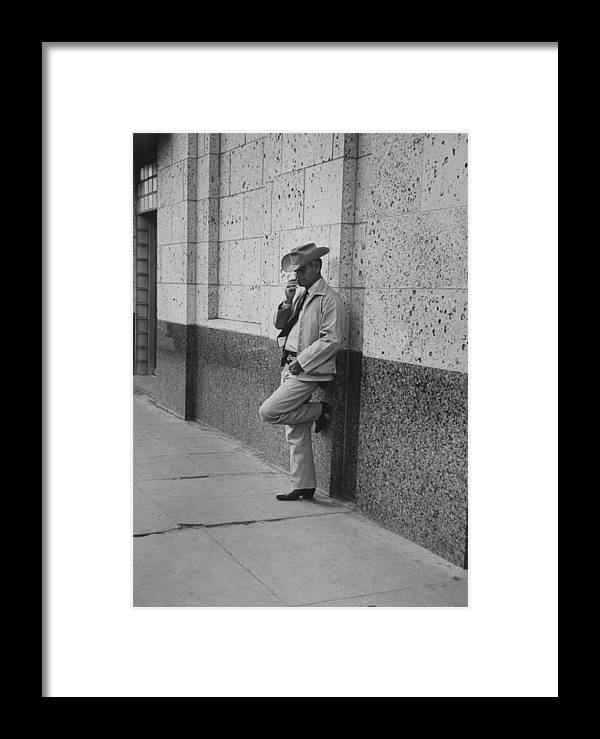 Timeincown Framed Print featuring the photograph Walter Russellgeorge Parr Misc by John Dominis