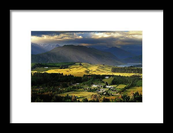 Scenics Framed Print featuring the photograph Wanaka, New Zealand by Atomiczen