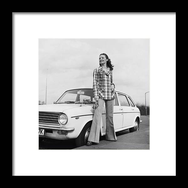 Fashion Model Framed Print featuring the photograph Want A Lift by Chaloner Woods