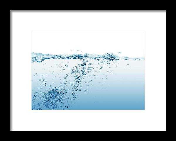 Purity Framed Print featuring the photograph Water 6 by Guarosh