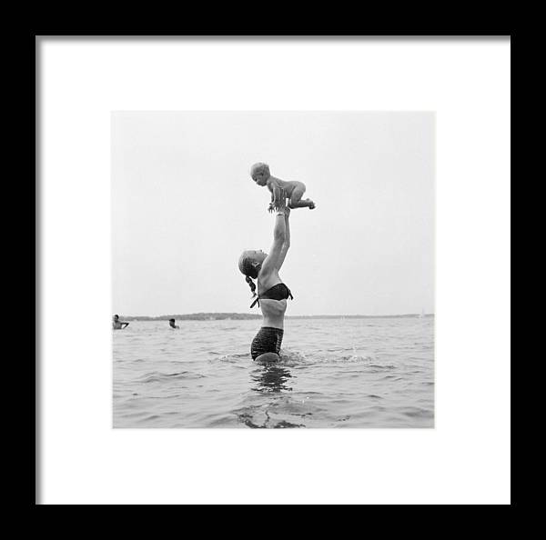 Human Arm Framed Print featuring the photograph Water Games by Jacobsen