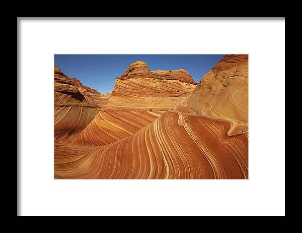 Toughness Framed Print featuring the photograph Wave, Paria Canyon by © Vadim Balakin