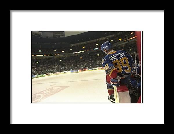 National Hockey League Framed Print featuring the photograph Wayne Gretzky by Glenn Cratty