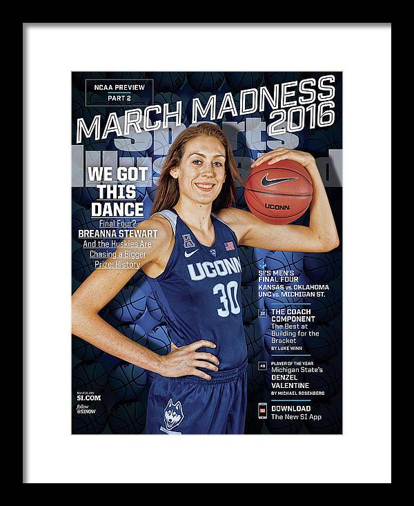 Magazine Cover Framed Print featuring the photograph We Got This Dance 2016 March Madness College Basketball Sports Illustrated Cover by Sports Illustrated