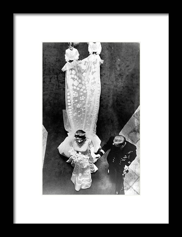 Child Framed Print featuring the photograph Wedding Train by Keystone