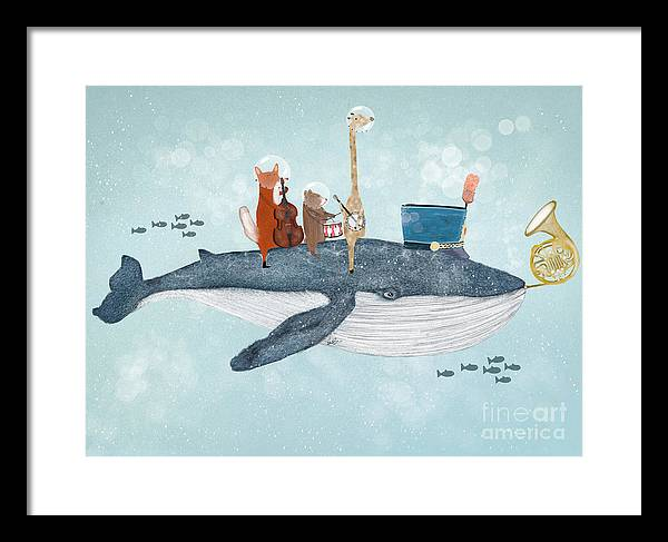 Whale Song Framed Print