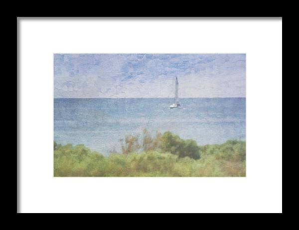 Tranquility Framed Print featuring the photograph When Your Boat Comes In by Craig Hewson