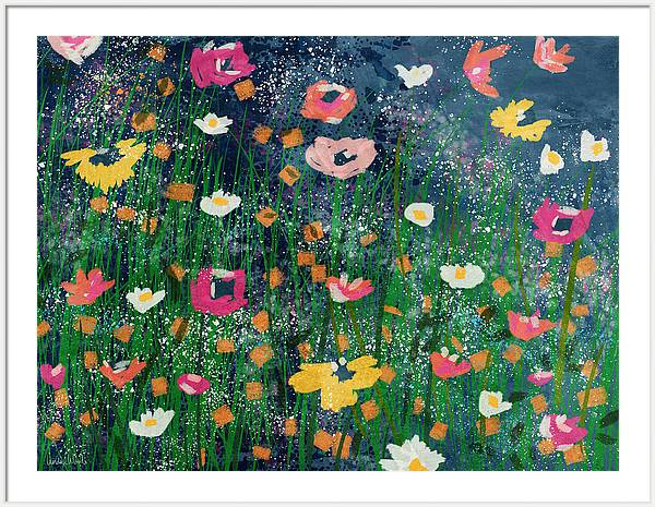 Wildflowers 2- Art by Linda Woods by Linda Woods