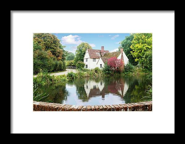 Area Of Outstanding Natural Beauty Framed Print featuring the photograph Willy Lott's House by James Lamb