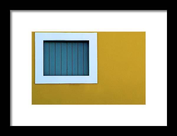 Outdoors Framed Print featuring the photograph Window by L F Ramos-reyes