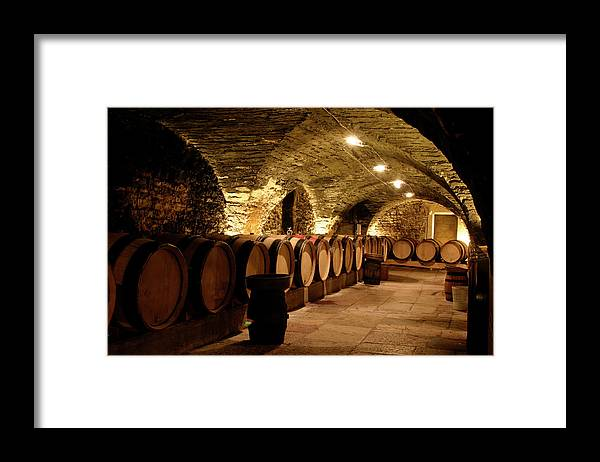 Arch Framed Print featuring the photograph Wine Cellar by Brasil2