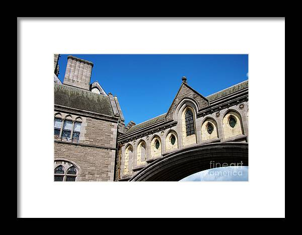 Dublin Framed Print featuring the photograph Winetavern Street Arch by Bob Phillips
