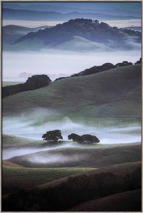 Winter Country, Sonoma by Vincent James
