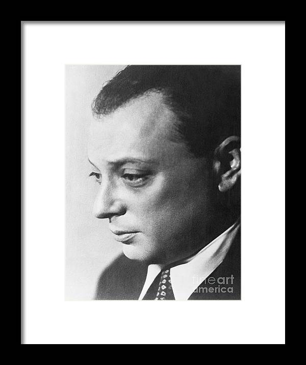 Physicist Framed Print featuring the photograph Wolfgang Pauli by Bettmann