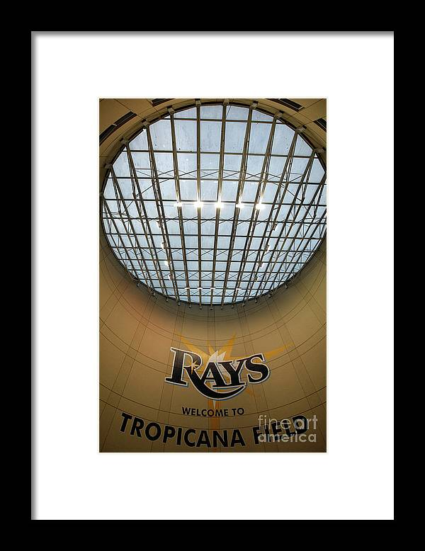 American League Baseball Framed Print featuring the photograph World Series Philadelphia Phillies V by Jamie Squire
