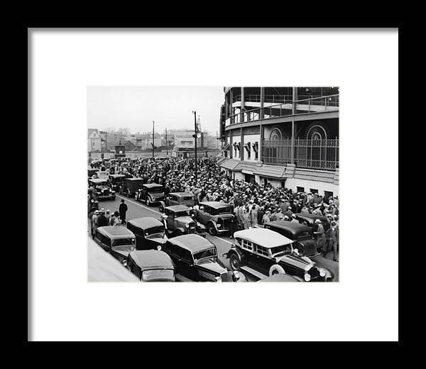 Hometown Framed Print featuring the photograph World Series Tickets by Fpg