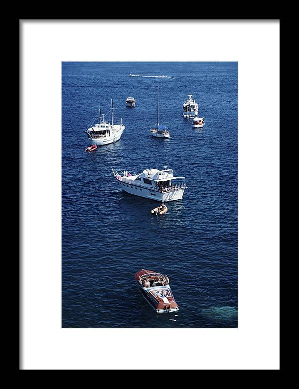 1980-1989 Framed Print featuring the photograph Yachting Holiday by Slim Aarons