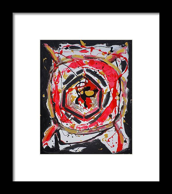 Framed Print featuring the painting You Are A Dream Edition 2 by Sonye Locksmith