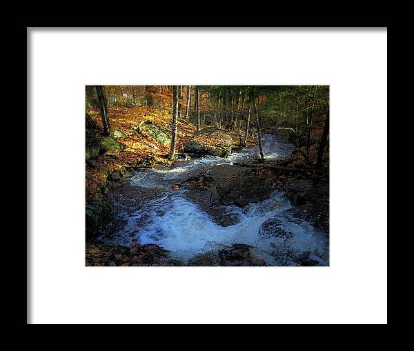 Fall Framed Print featuring the photograph Your Morning Blessing by Jerry LoFaro