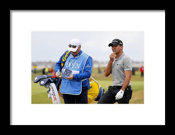 Three Quarter Length Framed Print featuring the photograph 145th Open Championship - Previews by Kevin C. Cox