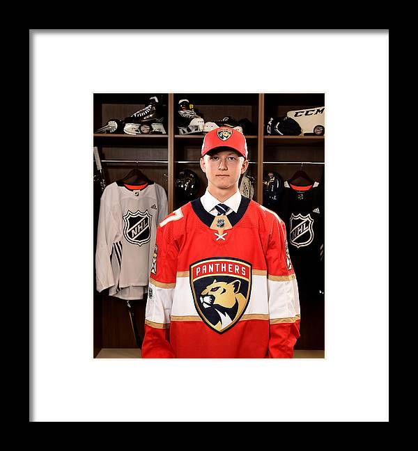 United Center Framed Print featuring the photograph 2017 NHL Draft - Portraits by Stacy Revere