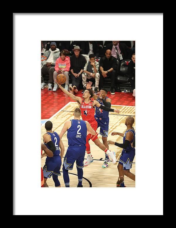 Nba Pro Basketball Framed Print featuring the photograph 69th NBA All-Star Game by Joe Murphy