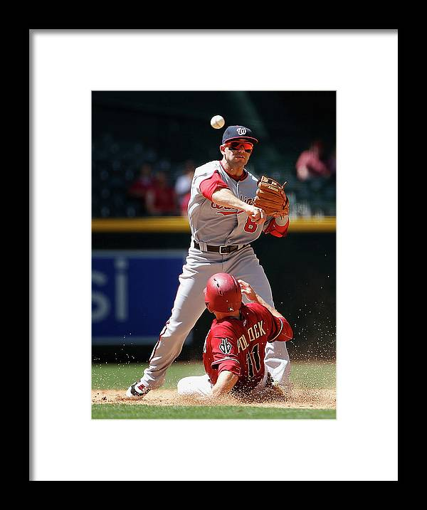 Double Play Framed Print featuring the photograph A. J. Pollock by Christian Petersen