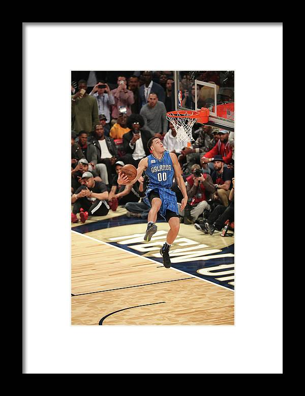 Event Framed Print featuring the photograph Aaron Gordon by Joe Murphy