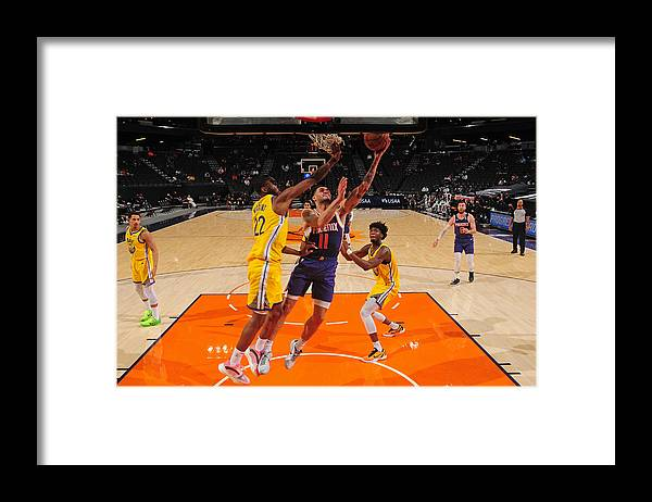 Nba Pro Basketball Framed Print featuring the photograph Abdel Nader by Barry Gossage
