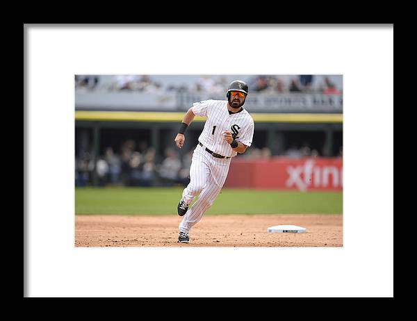 People Framed Print featuring the photograph Adam Eaton by Ron Vesely