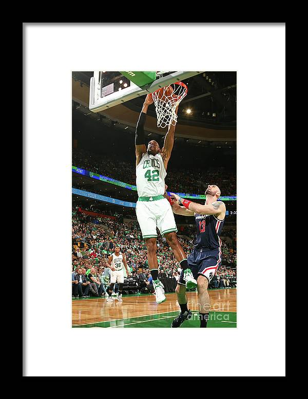 Playoffs Framed Print featuring the photograph Al Horford by Ned Dishman