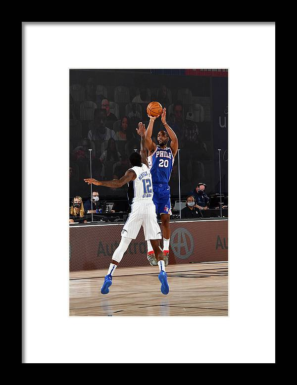 Nba Pro Basketball Framed Print featuring the photograph Alec Burks by Jesse D. Garrabrant