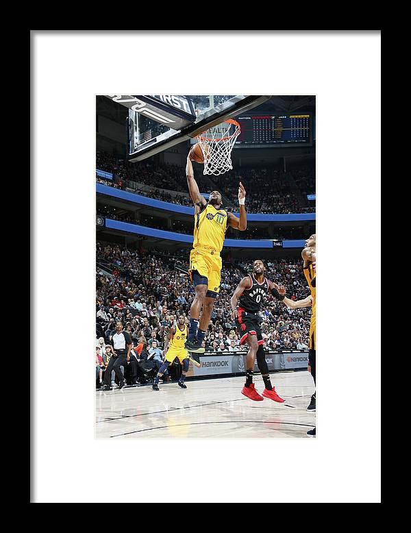 Nba Pro Basketball Framed Print featuring the photograph Alec Burks by Melissa Majchrzak