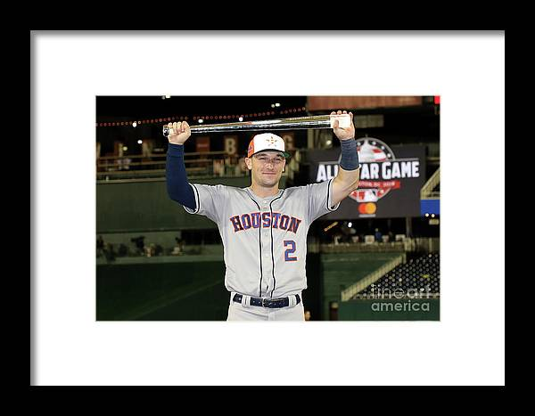 Alex Bregman Framed Print featuring the photograph Alex Bregman by Rob Carr