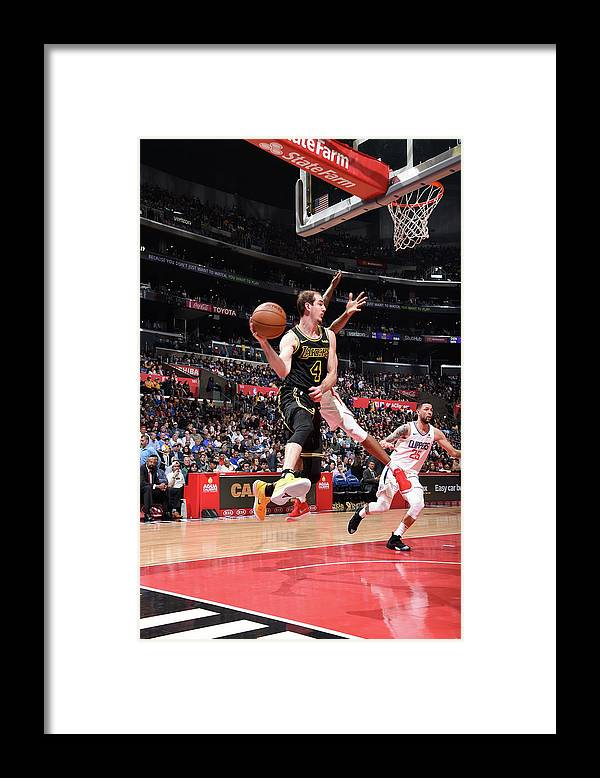 Sports Ball Framed Print featuring the photograph Alex Caruso by Adam Pantozzi