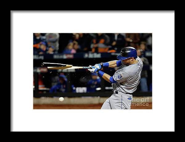 Second Inning Framed Print featuring the photograph Alex Gordon by Sean M. Haffey