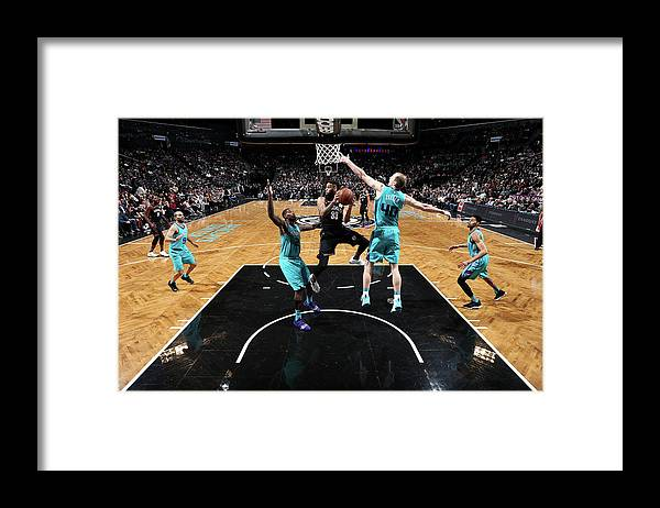 Nba Pro Basketball Framed Print featuring the photograph Allen Crabbe by Nathaniel S. Butler
