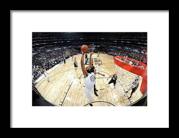 Nba Pro Basketball Framed Print featuring the photograph Andre Drummond by Andrew D. Bernstein