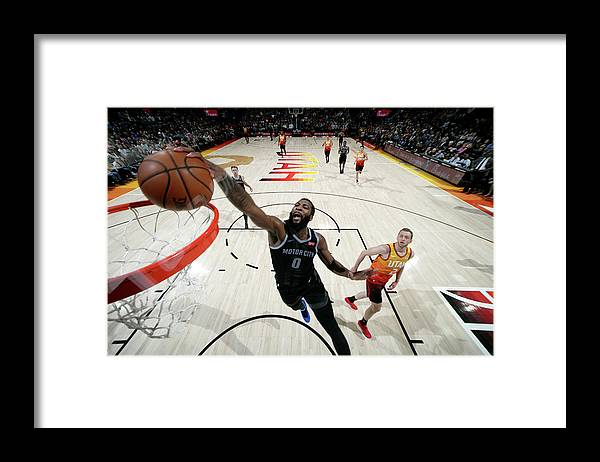 Nba Pro Basketball Framed Print featuring the photograph Andre Drummond by Melissa Majchrzak