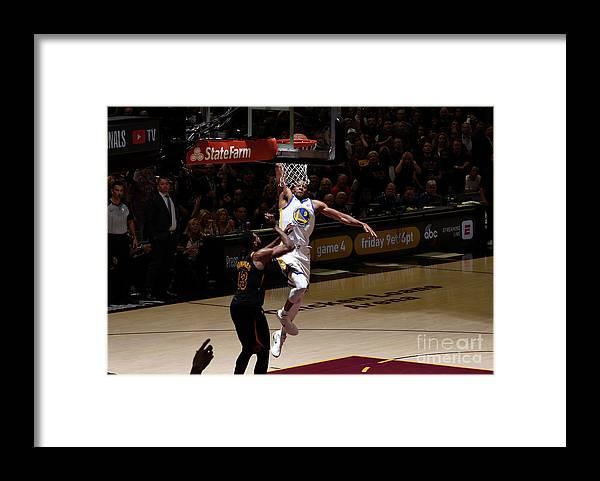 Playoffs Framed Print featuring the photograph Andre Iguodala by Garrett Ellwood