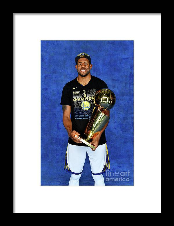 Playoffs Framed Print featuring the photograph Andre Iguodala by Jesse D. Garrabrant