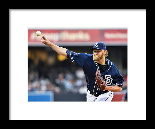 California Framed Print featuring the photograph Andrew Cashner by Denis Poroy