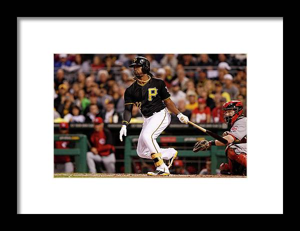 Pnc Park Framed Print featuring the photograph Andrew Mccutchen by David Maxwell