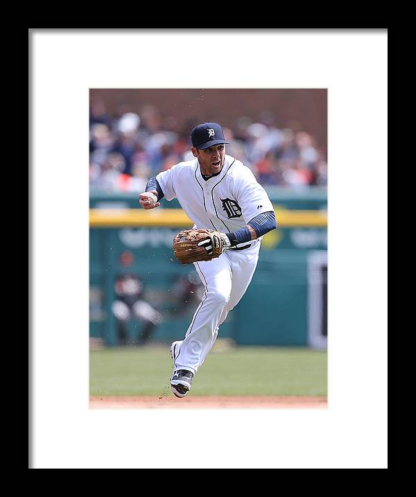 Andrew Romine Framed Print featuring the photograph Andrew Romine by Leon Halip