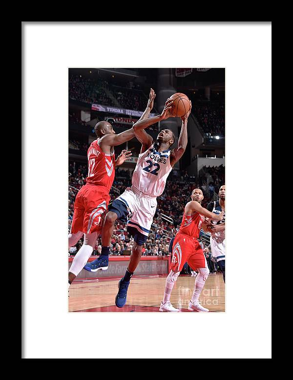 Nba Pro Basketball Framed Print featuring the photograph Andrew Wiggins by Bill Baptist