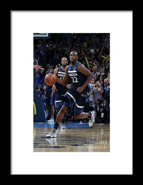 Sport Framed Print featuring the photograph Andrew Wiggins by Layne Murdoch