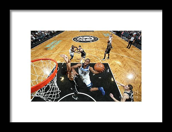 Nba Pro Basketball Framed Print featuring the photograph Andrew Wiggins by Nathaniel S. Butler