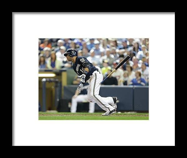 People Framed Print featuring the photograph Aramis Ramirez by Jeffrey Phelps