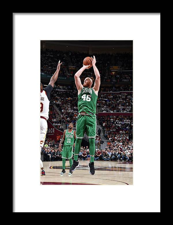 Nba Pro Basketball Framed Print featuring the photograph Aron Baynes by David Liam Kyle